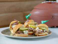 4-Ingredient Pulled Pork Pastor Sliders