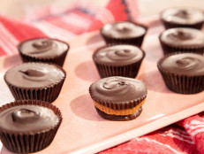 Chocolate Peanut Butter-Miso Cups