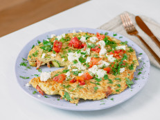 Family-Style Greek Zucchini-and-Herb Frittata