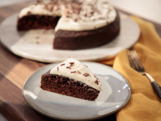 Chocolate Stout Cake with Irish Cream Frosting