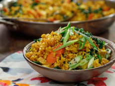 Turmeric-Kale Fried Rice