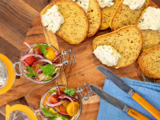 Smoked Salmon Rillettes with Rye Toasts