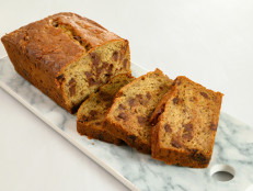 Ginger and Chocolate Chip Banana Bread