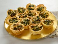 Kale Spanakopita Cups