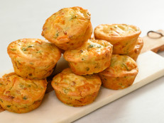 Savory Bacon, Cheddar, and Scallion Muffins
