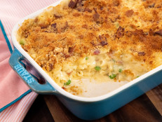 Bacon and Pea Mac 'n' Cheese