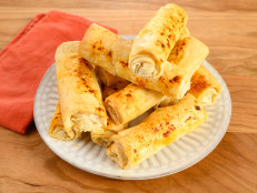 Creamy Leek and Cheese Phyllo Cigars