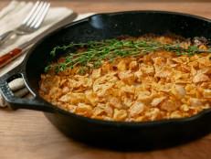 Cornflake Potato Gratin