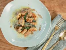 Ricotta Gnocchi with Sage and Brown Butter