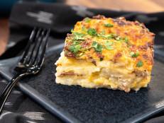 Pasta and Potato Pierogi Lasagna
