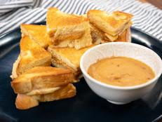 Peanut Butter Brioche Sandwiches