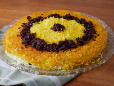 Saffron Basmati Rice (Tahdig)