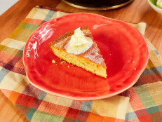 Skillet Cornbread with Homemade Butter