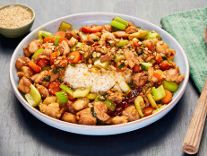 Kung Pao Chicken with House Rice