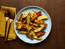 Mustard and Herb Roasted Fingerling Potatoes