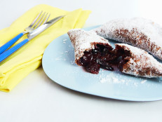 Fried Chocolate-Cherry Hand Pies