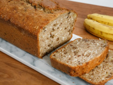 Banana Bread with Coconut and Pecans