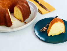 Citrus Sunshine Pound Cake