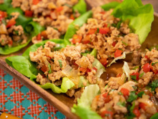 Gluten-Free Stir-Fried Chicken in Lettuce Cups
