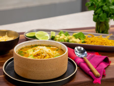Cheesy Chicken Tortilla Soup