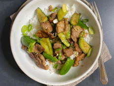 Pork and Cucumber Stir-Fry
