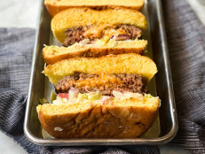 Stuffed Adobo Cheeseburgers