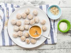 Coconut-Peanut Butter Oatmeal Balls