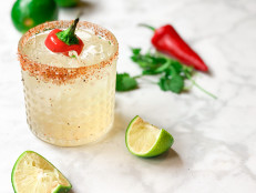 Spicy Cilantro Margarita