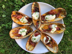 Loaded Baked Potato Skin Cups