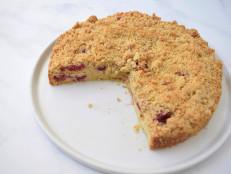 Raspberry Yogurt Breakfast Cake