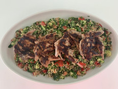 Grilled Quail and Quinoa Tabbouleh
