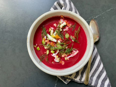 Pickled Beet Gazpacho
