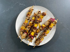 Soy-Glazed Pork and Pineapple Skewers