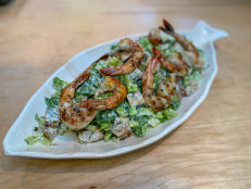 "Grilled Shrimp with ""Ranchovy"" Salad"