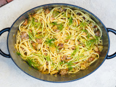 Pasta with Sausage, Fennel and Sourdough Breadcrumbs (Sponsored)