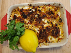 Baked Crab with Garlic-Chile Butter