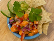 Salmon Ceviche with Citrus, Chiles and Avocado