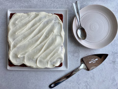 Carrot Snacking Cake with Cream Cheese Frosting