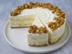 No-Bake Lemon Mousse Cake