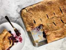 Blueberry Slab Pie