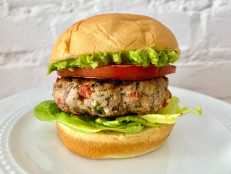 Chile-Lime Chicken Burgers