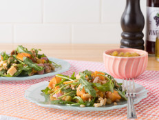 Farro, Butternut Squash, and Arugula Salad