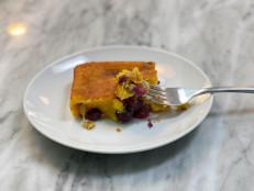 Schiacciata all'Uva (Italian Sweet Bread with Grapes)