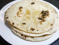 Chapatis with Ghee