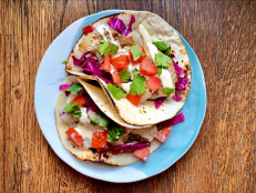 Grilled Fish Tacos with Key Lime Sauce
