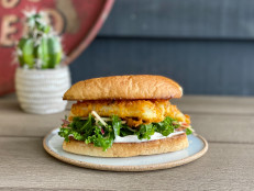 BBQ Fishwiches with Apple-Kale Slaw