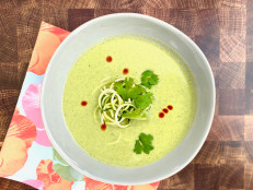 Caribbean Zucchini Soup