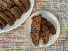 Double Chocolate Holiday Biscotti