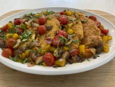Chicken Milanese, Cacciatore Style