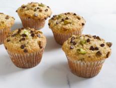 Nutty Pistachio-Chip Muffins